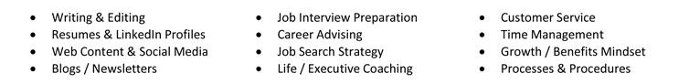 Resume Key Skills Example